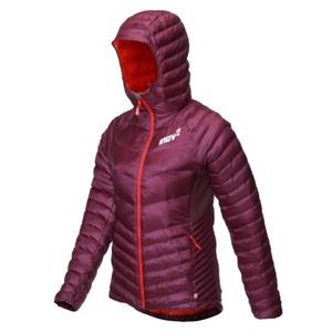 Running jacket Inov-8 THERMOSHEL L PRO FZ W 000733-PLRD-01 purple with red, INOV-8