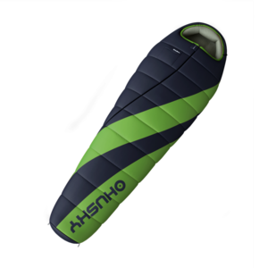 Sleeping bag Husky Espace -6°C SHORT green, Husky