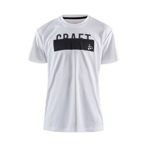 T-Shirt CRAFT Focus JR 1908887-900000 white, Craft