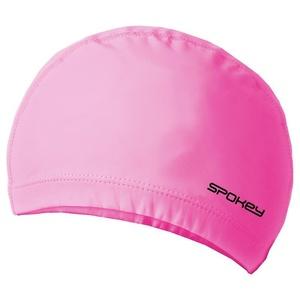 Two-layer swimming cap Spokey TORPEDO pink, Spokey