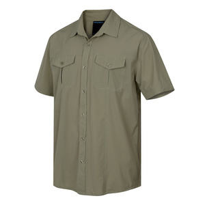 Men shirt Husky Gomy M light. olive, Husky