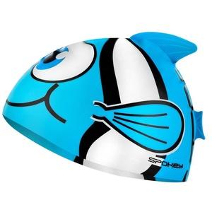 Children swimming cap Spokey RYBKA turquoise, Spokey