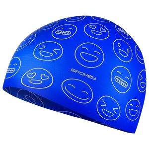 Junior swimming cap Spokey EMOJI blue, Spokey