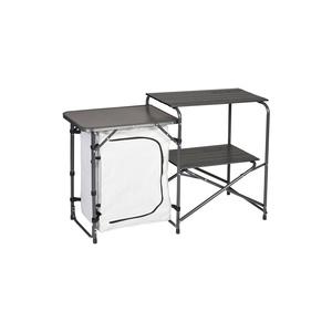 Folding table / Kitchenette Husky Moky silver, Husky