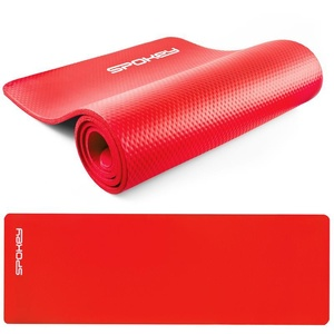 Mat to exercise Spokey SOFTMAT red 1,5 cm, Spokey