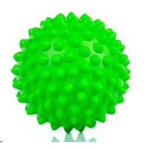 Rehabilitation massage ball Spokey TONI 90 mm, green, Spokey