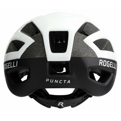 Helmet Rogelli PUNCTA, black and white ROG351055, Rogelli