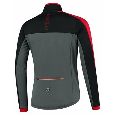 Men winter jacket Rogelli Freeze gray-black-red ROG351022, Rogelli