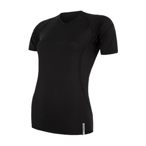 Women shirt Sensor Coolmax TECH short sleeve black 20100021, Sensor