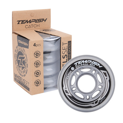 Set of Wheels Tempish CATCH 64x24 mm 82A set wheel (4 pcs), Tempish