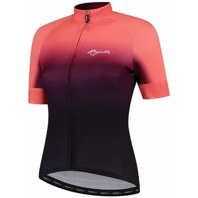 Women's premium bike jersey Rogelli DREAM with short sleeve, burgundy-coral 010.093, Rogelli