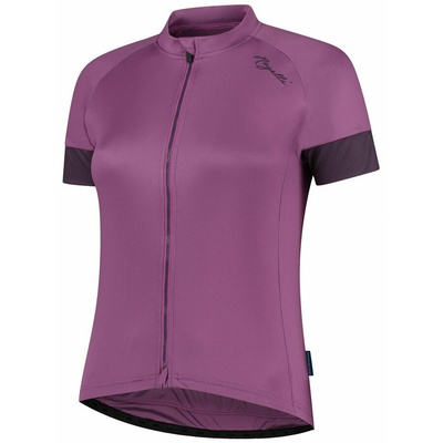 Women's cycling jersey Rogelli MODESTA with short sleeve, violet 010.119, Rogelli