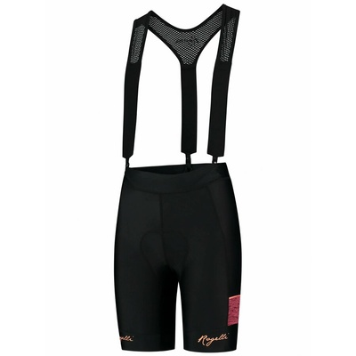 Women cycling shorts Rogelli CHARM 2.0 with gel lining, black-coral 010.291
