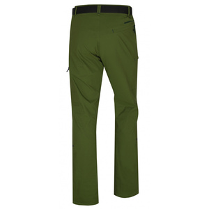 Men outdoor pants Husky Kahula M dark green, Husky