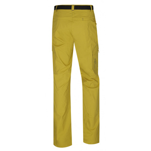 Women outdoor pants Husky Kahula L yellow-green, Husky