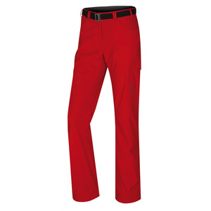 Women outdoor pants Husky Kahula L fine red, Husky