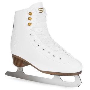 Figure Skating skates Spokey FUR white