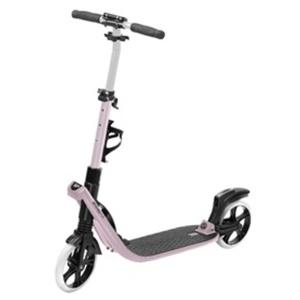Spokey TARANIS PLUS Scooter with handbrake, castors 200 mm, pink, Spokey