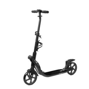 Spokey TARANIS PLUS Scooter with handbrake, castors 200 mm, Black, Spokey