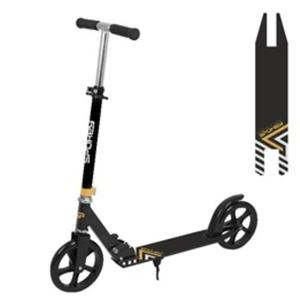 Scooter Spokey AYAS castors 200 mm, Black, Spokey