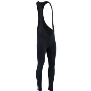 Men winter cycling pants Silvini Maletto Pad MP1734 black