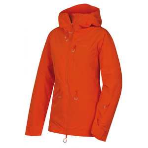 Women ski jacket Husky Gomez l significantly orange, Husky