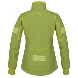 Women softshell jacket Husky Scooby L light. green, Husky