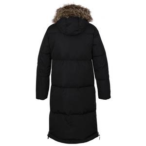 Women's downy coat Husky Downbag L black, Husky