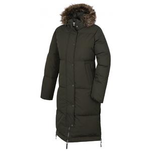 Women's downy coat Husky Downbag L tm. khaki, Husky