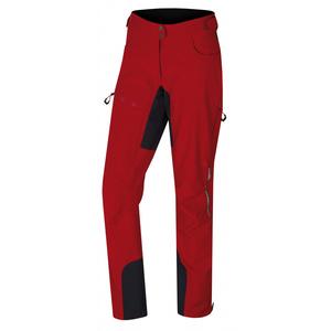 Women softshell pants Husky Caisson L red, Husky