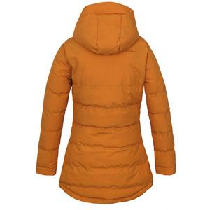 Women's hardshell stuffed jacket Husky Nilit L th. orange, Husky