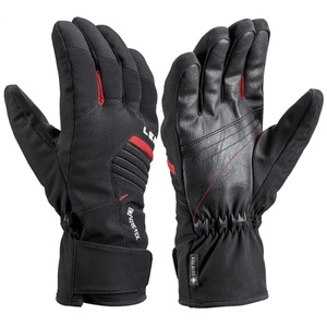 Ski gloves LEKI Spox GTX black / red, Leki