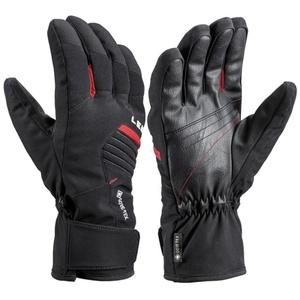 Ski gloves LEKI Spox GTX black / red, Leki