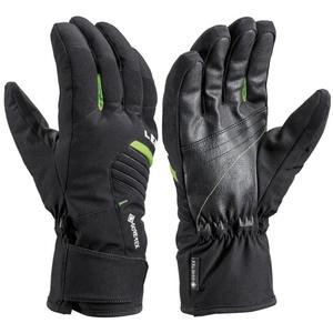 Ski gloves LEKI Spox GTX black / lime, Leki
