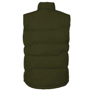 Men feather vest Husky Deep M tm. green, Husky