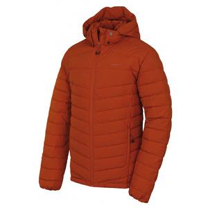 Men feather jacket Husky Donnie M orange-brown, Husky