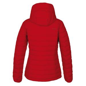 Women feather jacket Husky Donnie L red, Husky