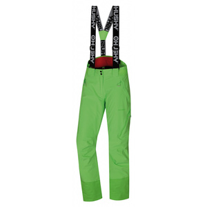 Women ski pants Husky Mitaly L neon green, Husky