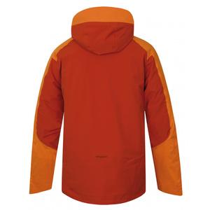 Men ski jacket Husky Gambola M orange-brown, Husky
