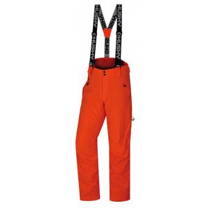 Men ski pants Husky Mitaly M neon orange, Husky