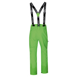 Men ski pants Husky Mitaly M neon green, Husky