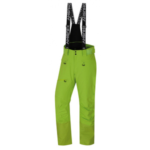 Men ski pants Husky Gilep M green, Husky