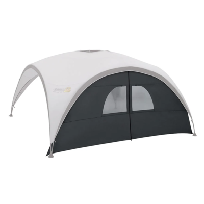 Coleman Screen XL to Event Shelter with little windows a entrance grey, Coleman