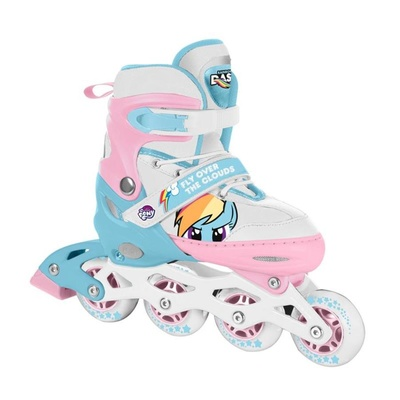 Roller skates Spokey HASBRO CANDY MY LITTLE PONY blue-pink, Spokey