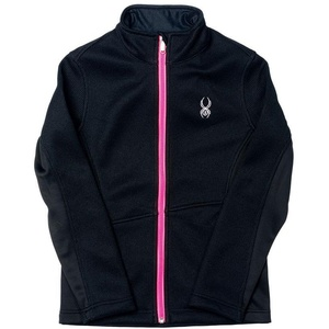 Sweater Spyder Girl`s Endure Core Mid WT Full Zipper 155422-001, Spyder