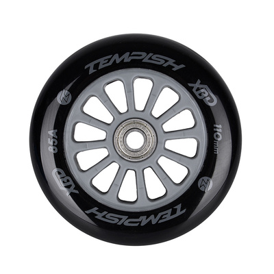 Scooter wheel with bearing Tempish PU 85A 110x24 grey, Tempish