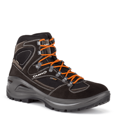 Men boots AKU Sendera GTX black / orange, AKU
