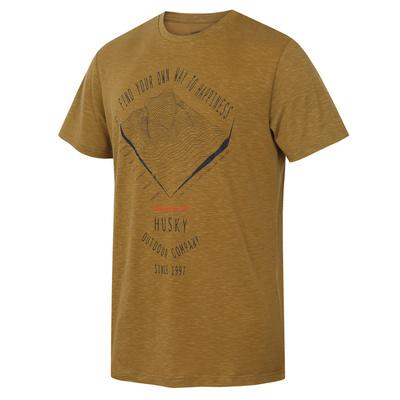 Men shirt Husky Tingl M khaki, Husky