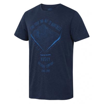 Men shirt Husky Tingl M tm. blue, Husky