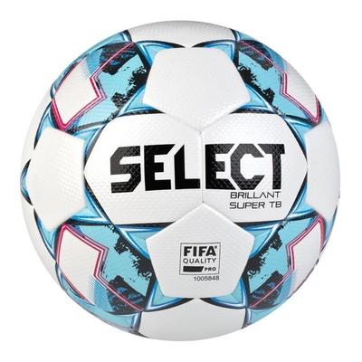 Football ball Select FB Brilliant Super TB white blue, Select